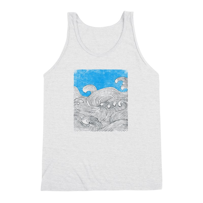 Waves Men's Triblend Tank by bulo