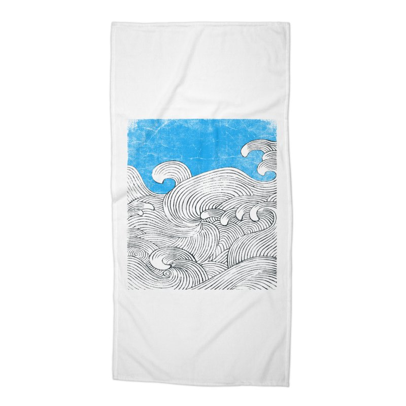 Waves Accessories Beach Towel by bulo
