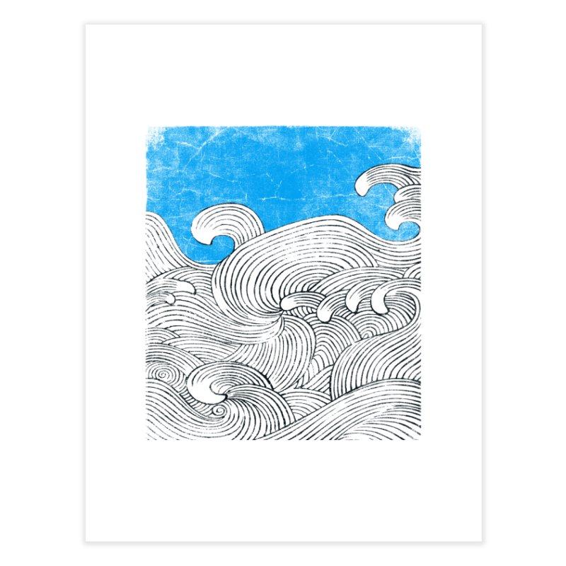 Waves Home Fine Art Print by bulo