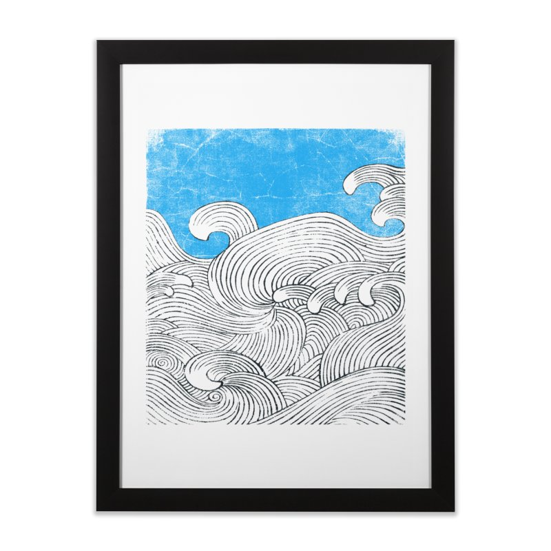 Waves Home Framed Fine Art Print by bulo