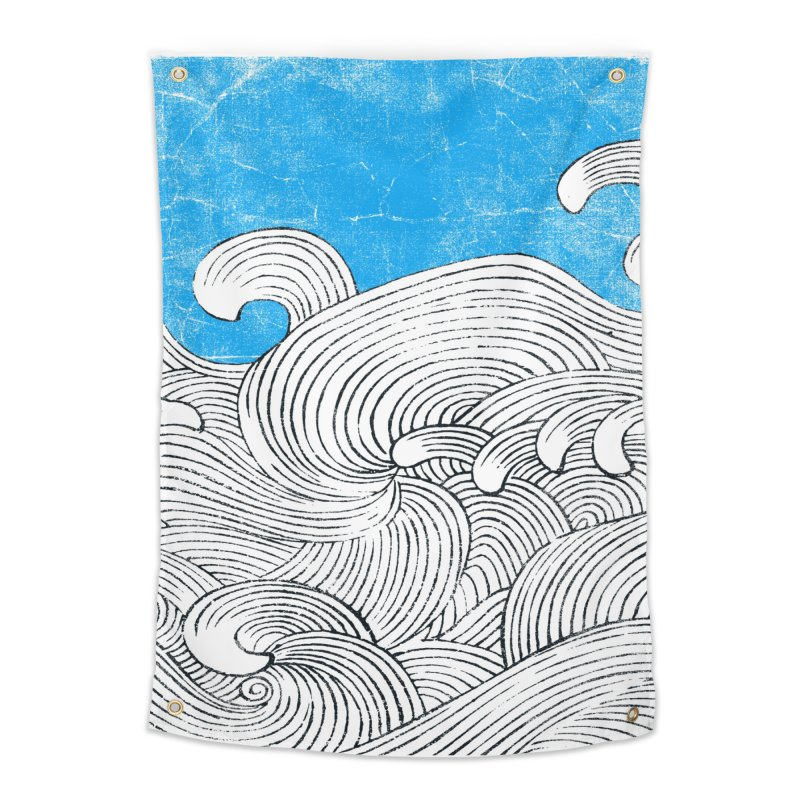 Waves Home Tapestry by bulo