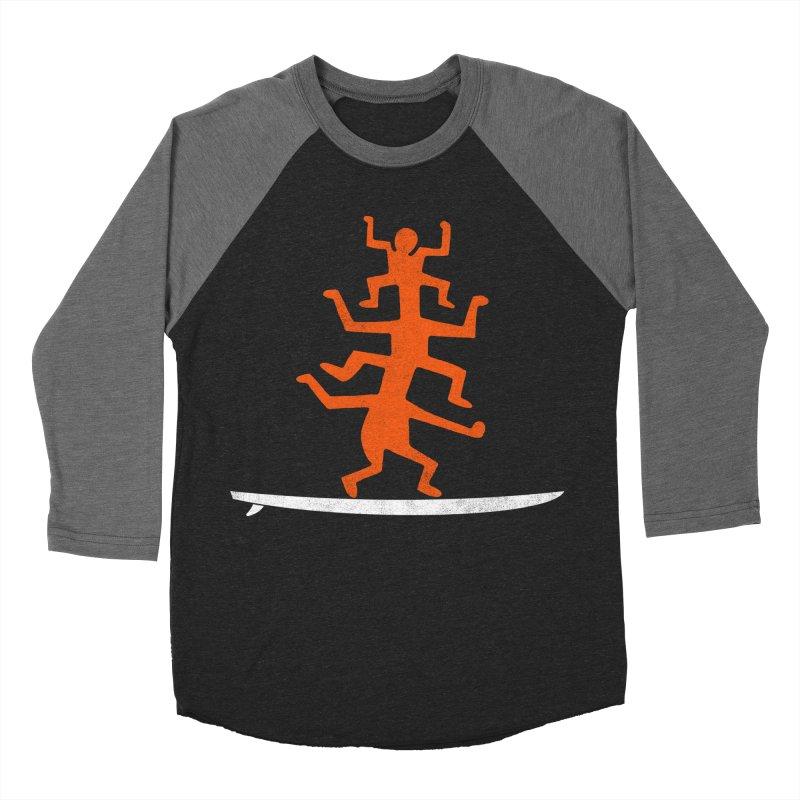 Funboard Women's Baseball Triblend Longsleeve T-Shirt by bulo