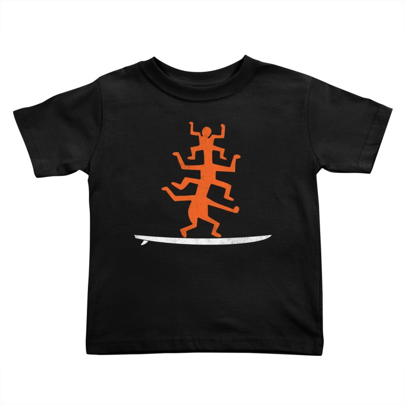 Funboard Kids Toddler T-Shirt by bulo