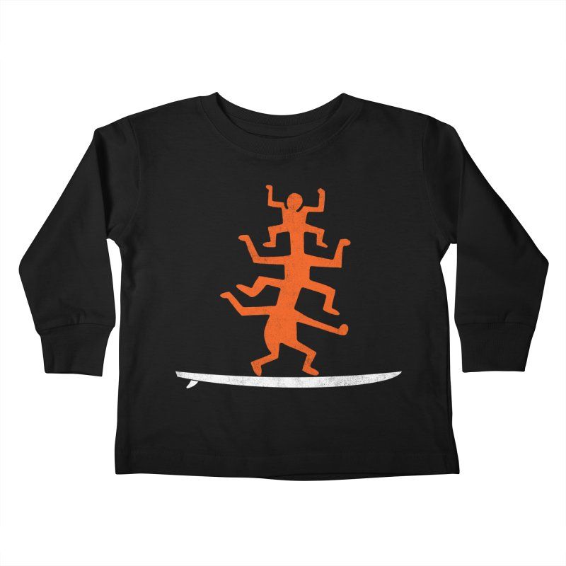 Funboard Kids Toddler Longsleeve T-Shirt by bulo