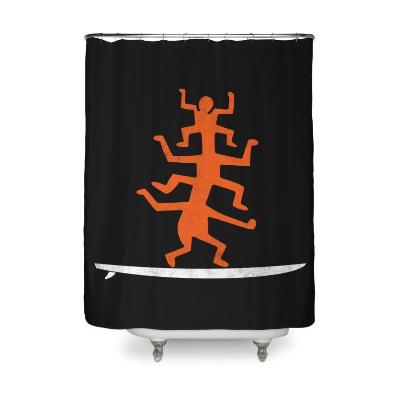 Funboard Home Shower Curtain by bulo