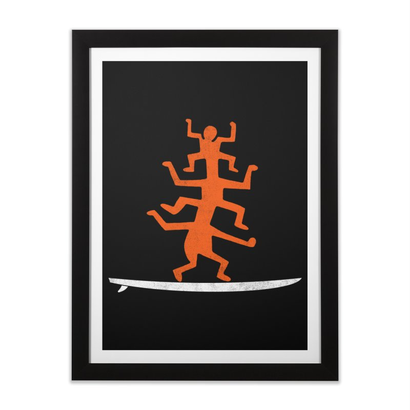 Funboard Home Framed Fine Art Print by bulo
