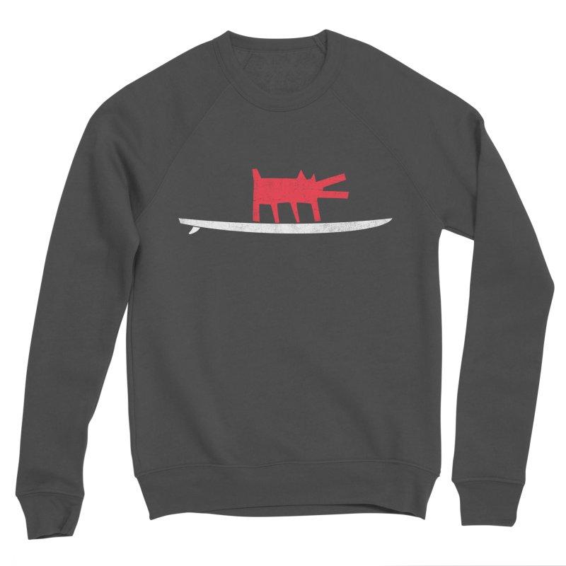 Funboard (Haring's Dog Version) Women's Sponge Fleece Sweatshirt by bulo
