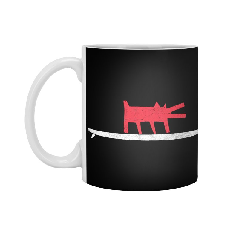 Funboard (Haring's Dog Version) Accessories Mug by bulo