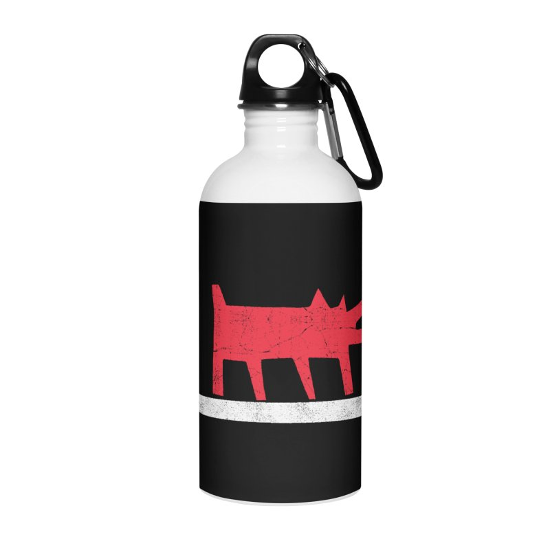 Funboard (Haring's Dog Version) Accessories Water Bottle by bulo