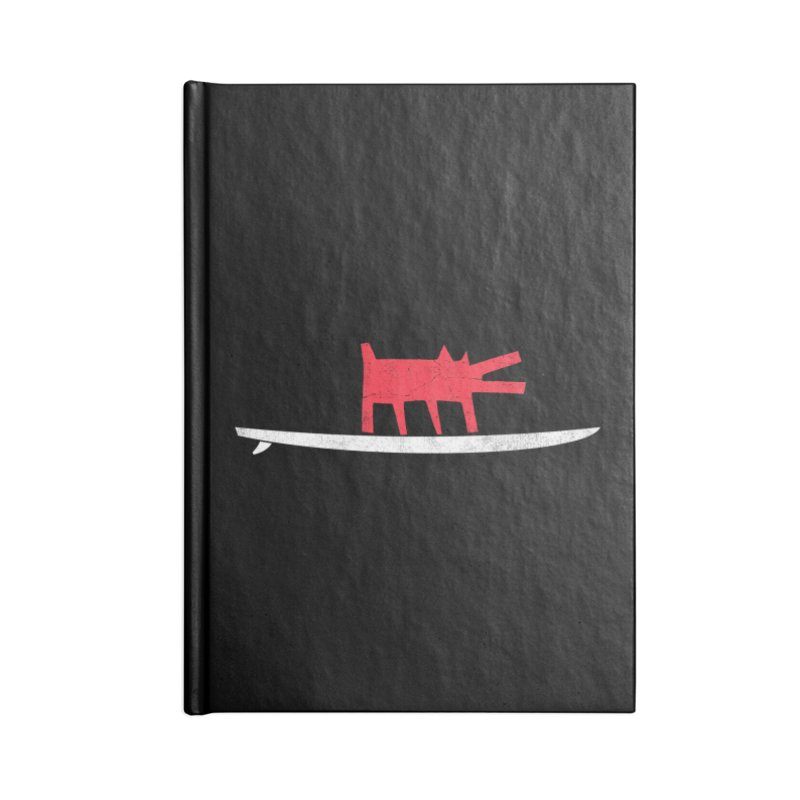 Funboard (Haring's Dog Version) Accessories Notebook by bulo