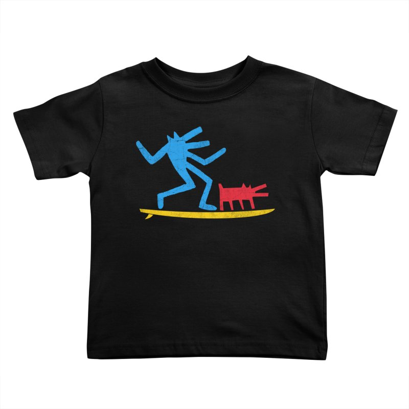 Funboard (primary colors version) Kids Toddler T-Shirt by bulo