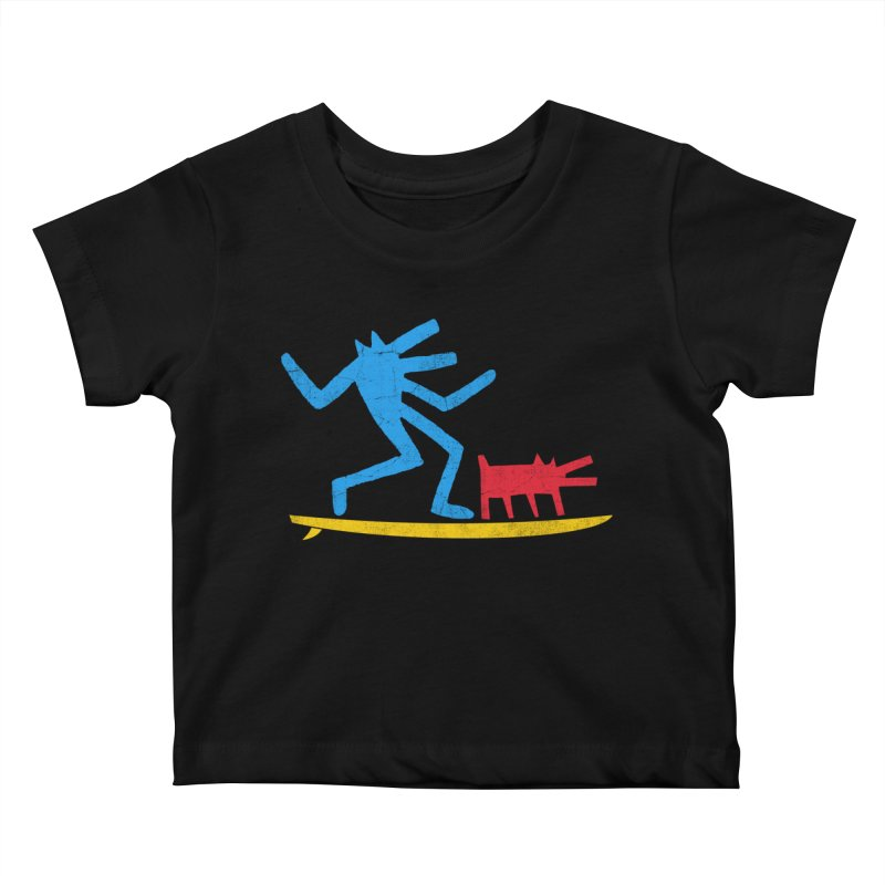 Funboard (primary colors version) Kids Baby T-Shirt by bulo