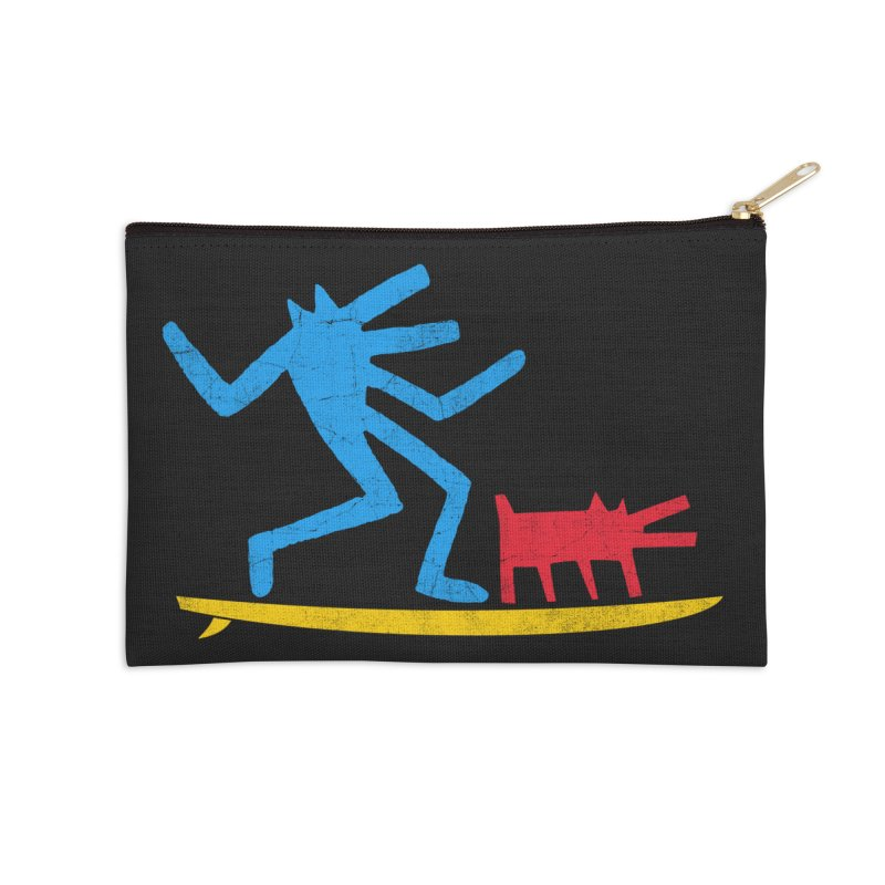 Funboard (primary colors version) Accessories Zip Pouch by bulo