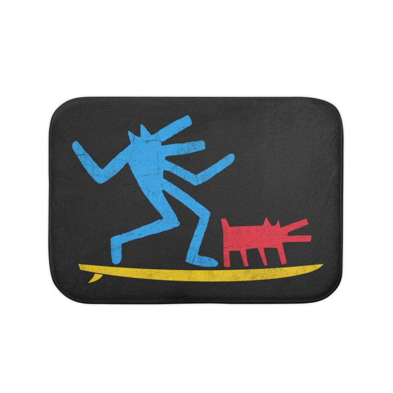 Funboard (primary colors version) Home Bath Mat by bulo