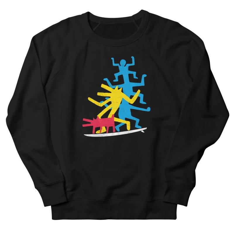 Funboard (threesome version) Women's Sweatshirt by bulo