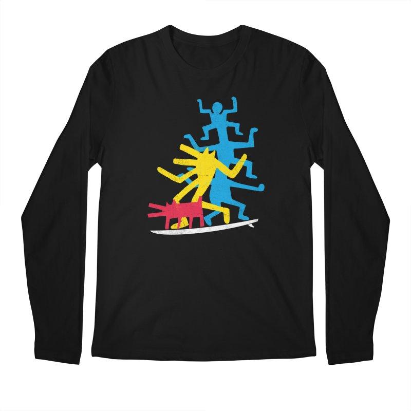 Funboard (threesome version) Men's Regular Longsleeve T-Shirt by bulo