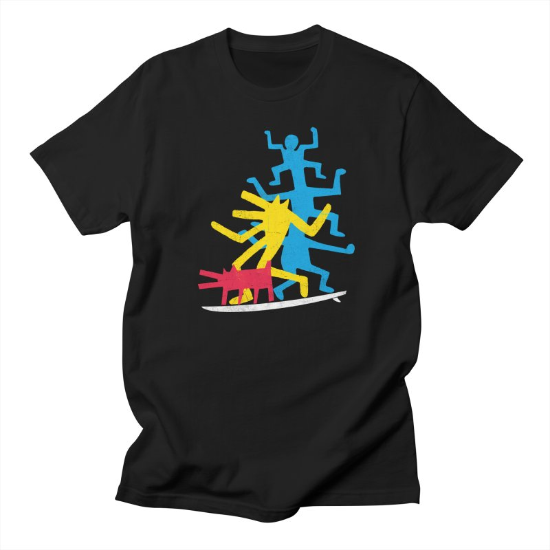 Funboard (threesome version) Men's Regular T-Shirt by bulo