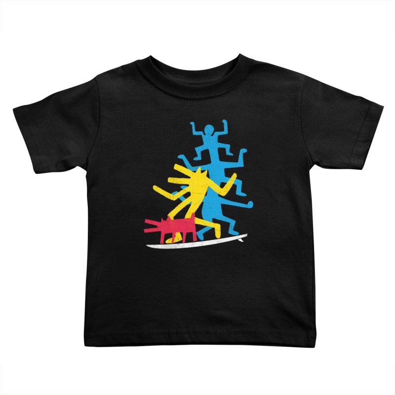 Funboard (threesome version) Kids Toddler T-Shirt by bulo