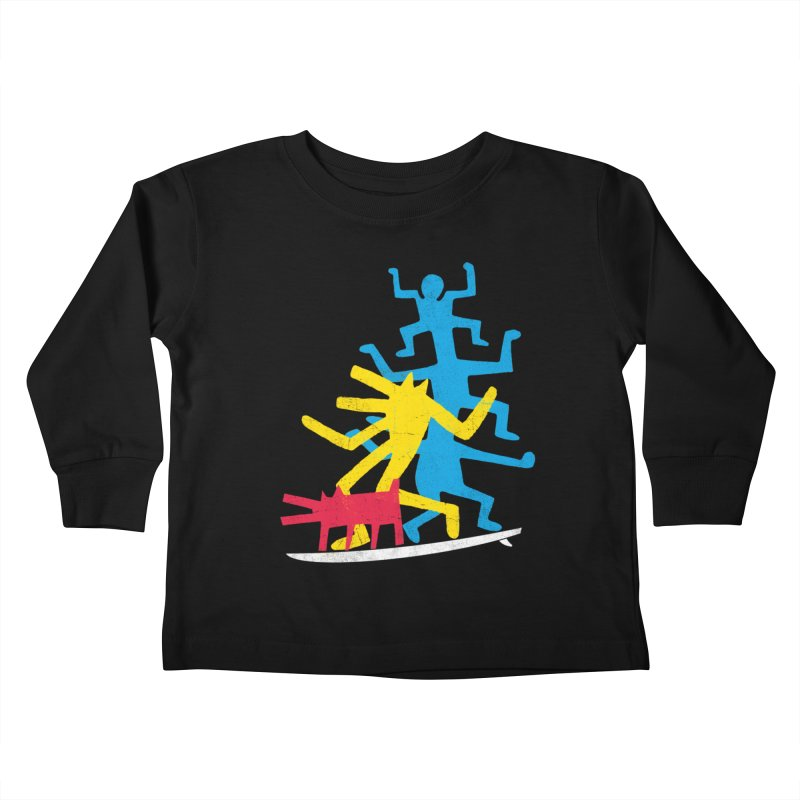 Funboard (threesome version) Kids Toddler Longsleeve T-Shirt by bulo