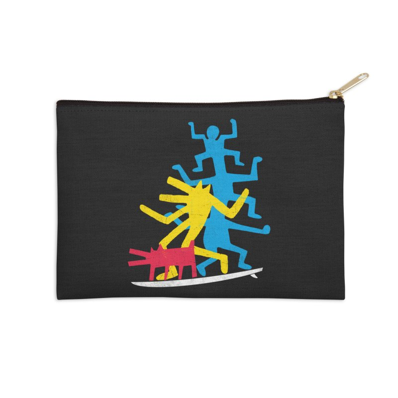 Funboard (threesome version) Accessories Zip Pouch by bulo