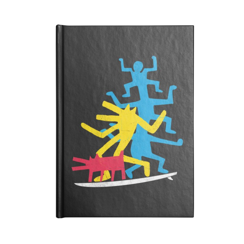 Funboard (threesome version) Accessories Notebook by bulo