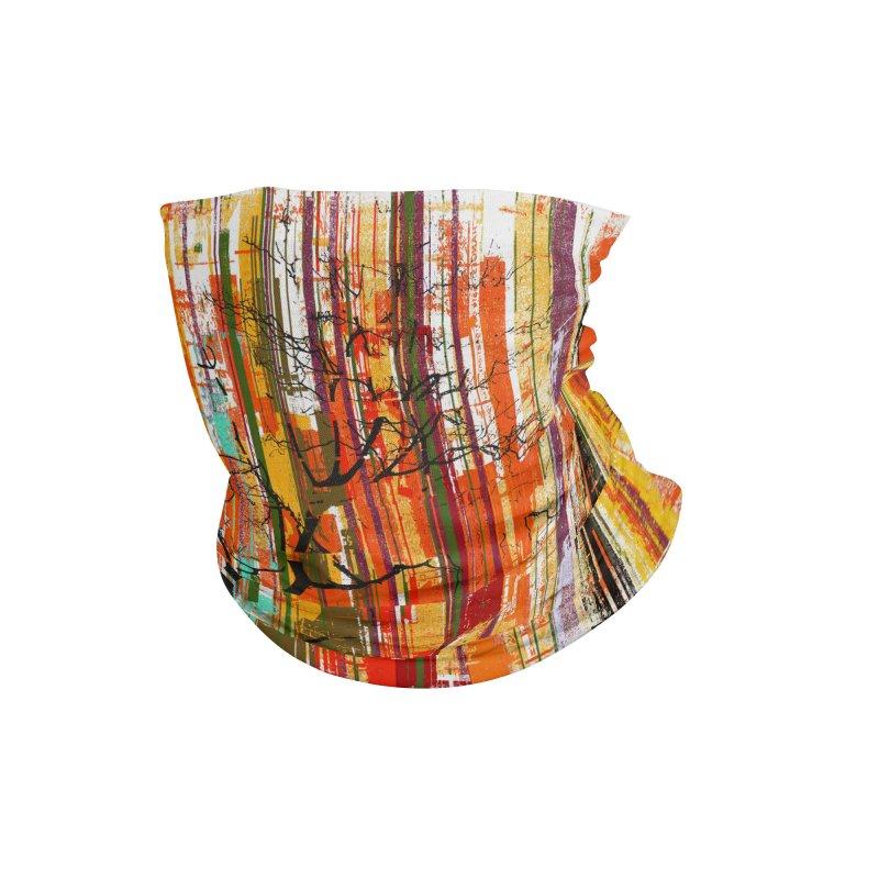 Fusion Autumn (Vertical Version) Accessories Neck Gaiter by bulo