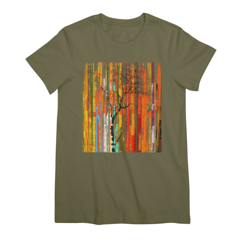 Fusion Autumn (Vertical Version) Women's Premium T-Shirt by bulo
