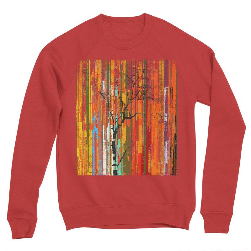 Fusion Autumn (Vertical Version) Men's Sponge Fleece Sweatshirt by bulo