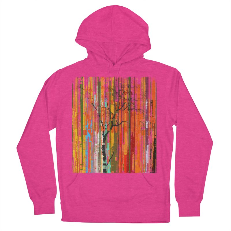 Fusion Autumn (Vertical Version) Men's French Terry Pullover Hoody by bulo