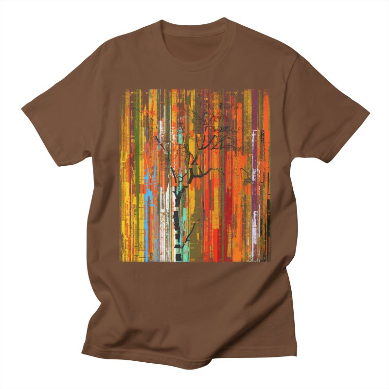 Fusion Autumn (Vertical Version) Men's Regular T-Shirt by bulo