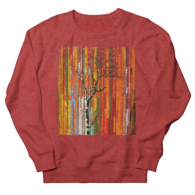 Fusion Autumn (Vertical Version) Men's French Terry Sweatshirt by bulo