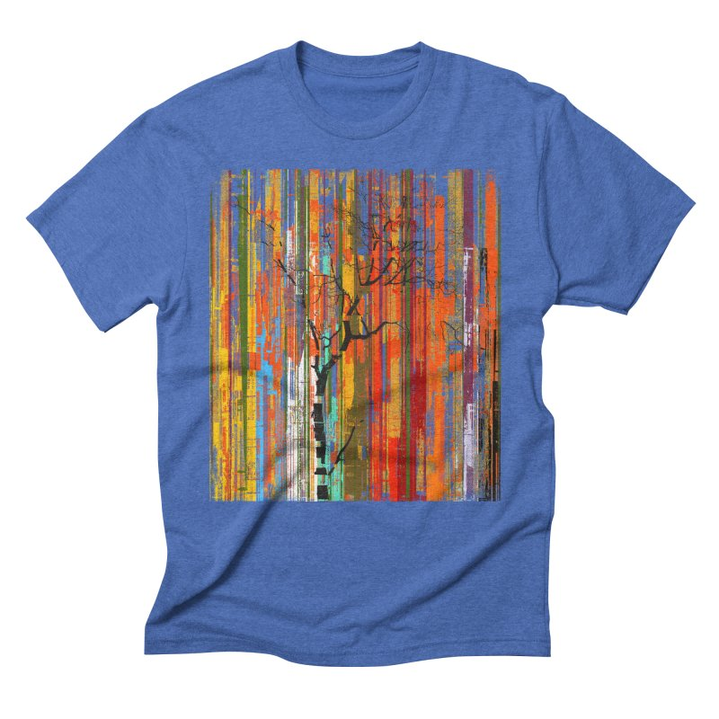 Fusion Autumn (Vertical Version) Men's Triblend T-Shirt by bulo