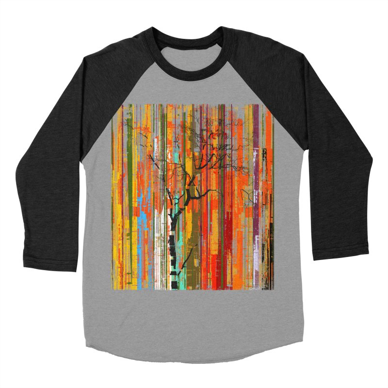 Fusion Autumn (Vertical Version) Women's Baseball Triblend Longsleeve T-Shirt by bulo