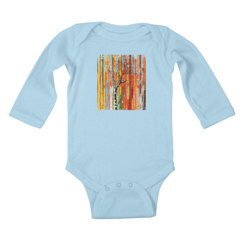 Fusion Autumn (Vertical Version) Kids Baby Longsleeve Bodysuit by bulo
