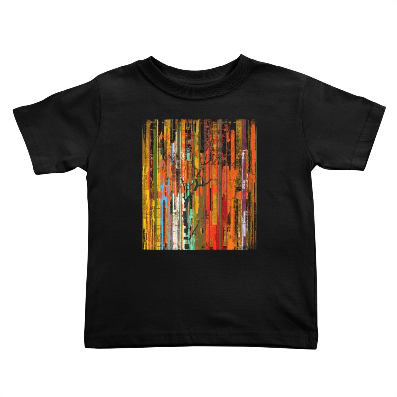 Fusion Autumn (Vertical Version) Kids Toddler T-Shirt by bulo