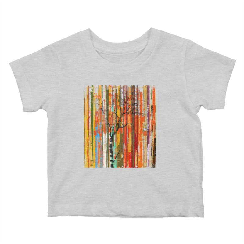 Fusion Autumn (Vertical Version) Kids Baby T-Shirt by bulo
