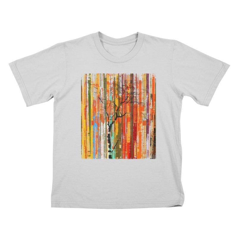 Fusion Autumn (Vertical Version) Kids T-Shirt by bulo