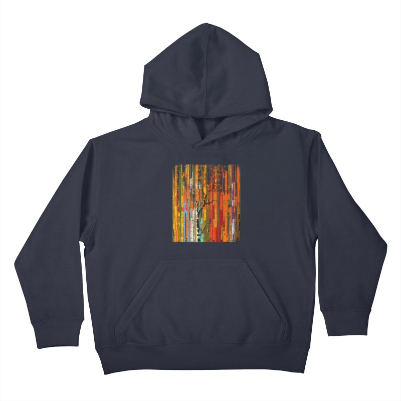 Fusion Autumn (Vertical Version) Kids Pullover Hoody by bulo