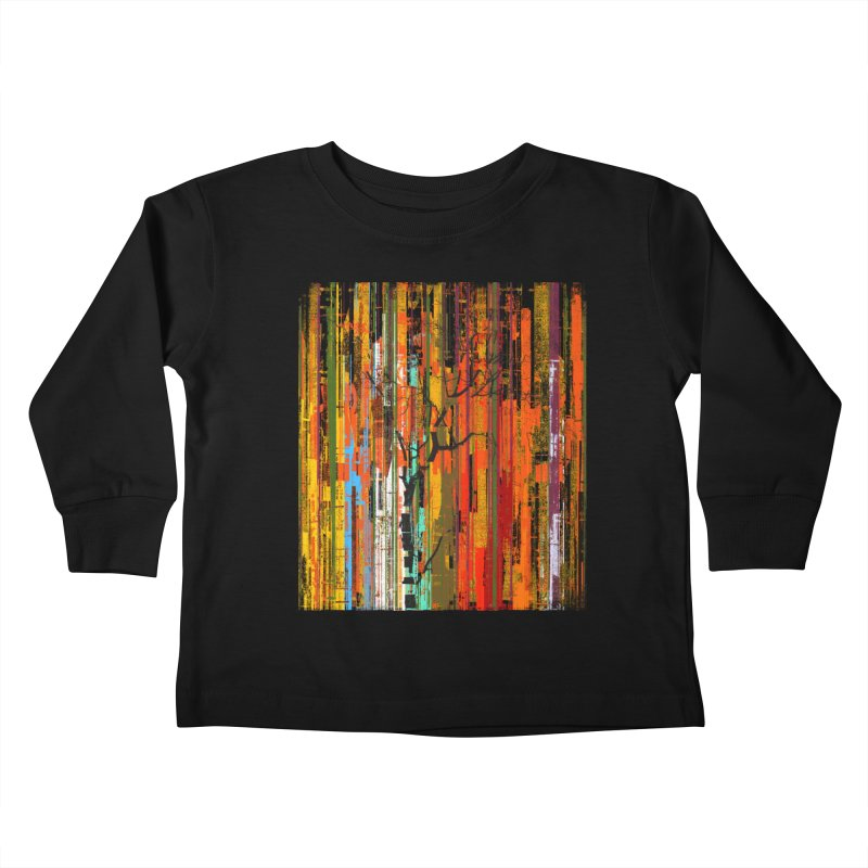 Fusion Autumn (Vertical Version) Kids Toddler Longsleeve T-Shirt by bulo
