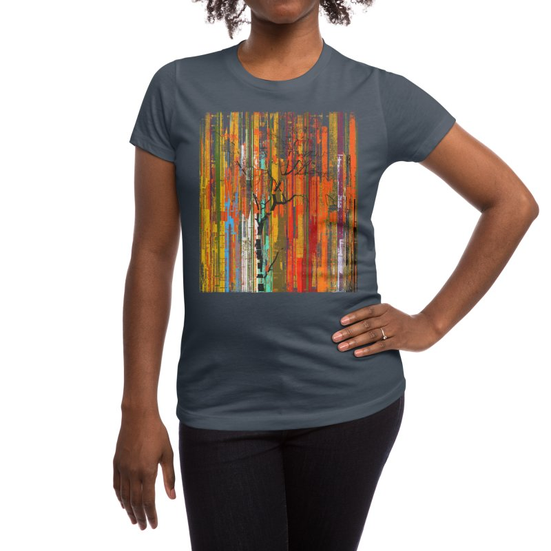 Fusion Autumn (Vertical Version) Women's T-Shirt by bulo