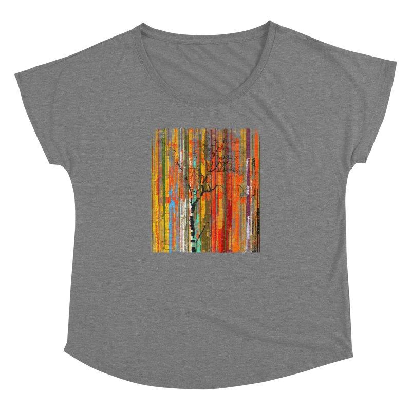 Fusion Autumn (Vertical Version) Women's Dolman Scoop Neck by bulo