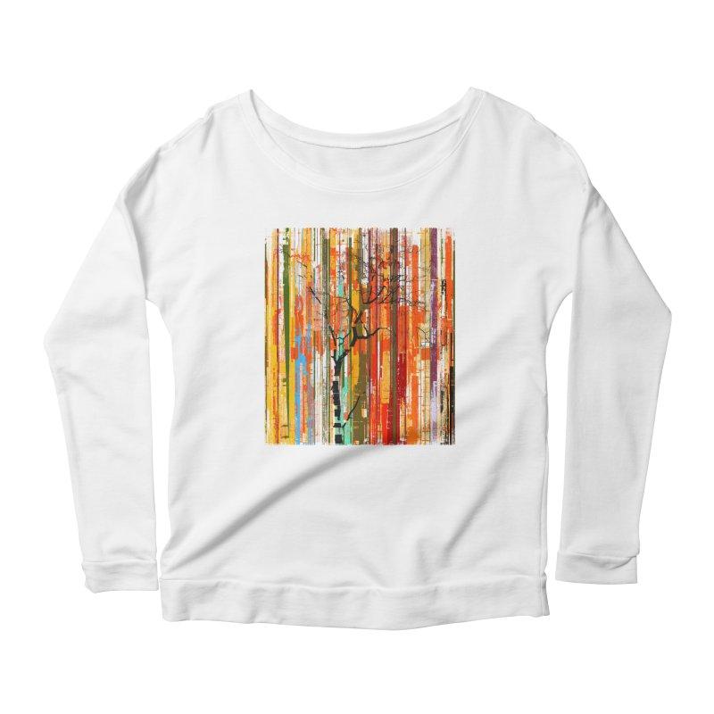 Fusion Autumn (Vertical Version) Women's Scoop Neck Longsleeve T-Shirt by bulo