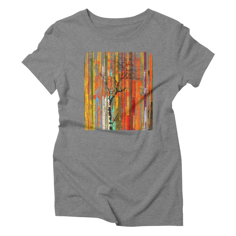 Fusion Autumn (Vertical Version) Women's Triblend T-Shirt by bulo