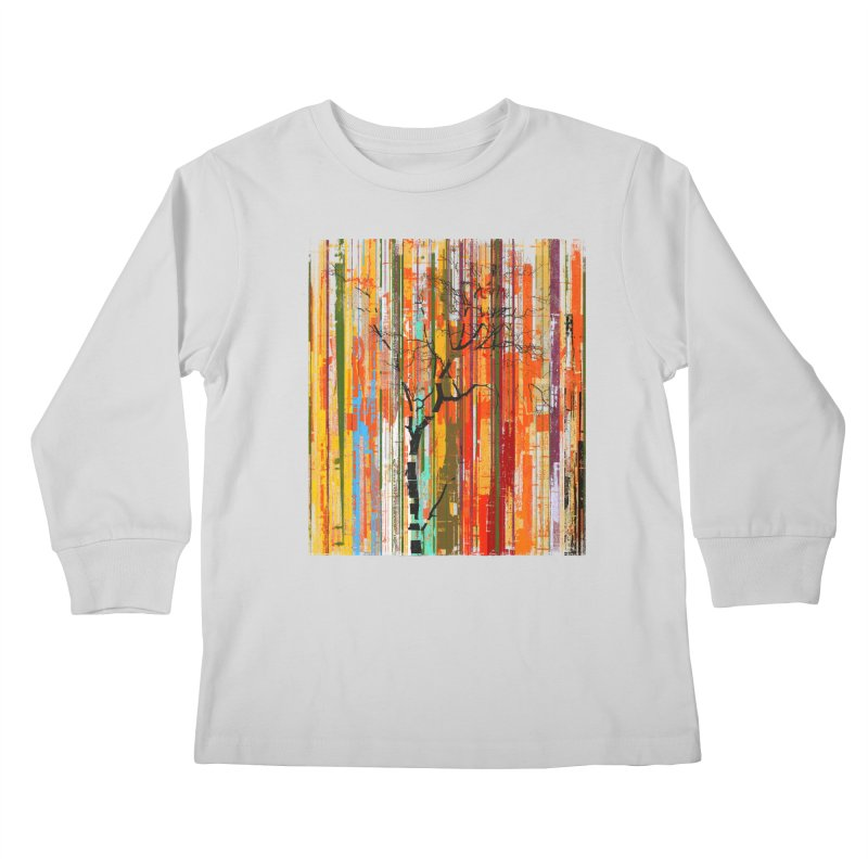 Fusion Autumn (Vertical Version) Kids Longsleeve T-Shirt by bulo