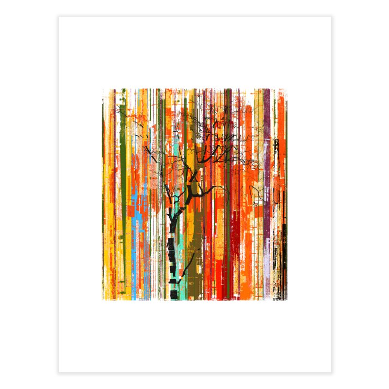 Fusion Autumn (Vertical Version) Home Fine Art Print by bulo