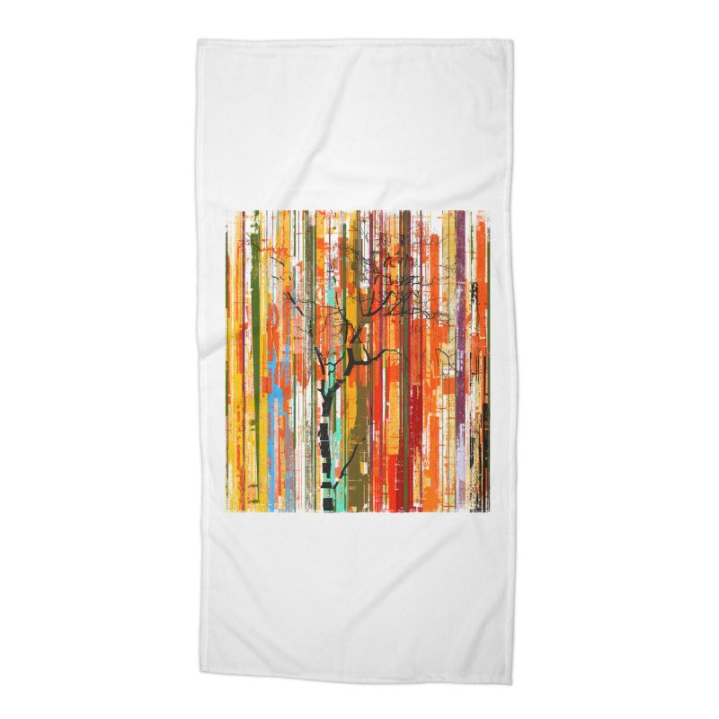 Fusion Autumn (Vertical Version) Accessories Beach Towel by bulo