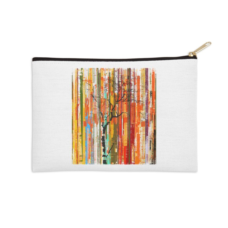 Fusion Autumn (Vertical Version) Accessories Zip Pouch by bulo