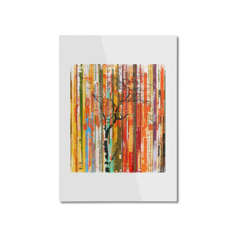 Fusion Autumn (Vertical Version) Home Mounted Aluminum Print by bulo