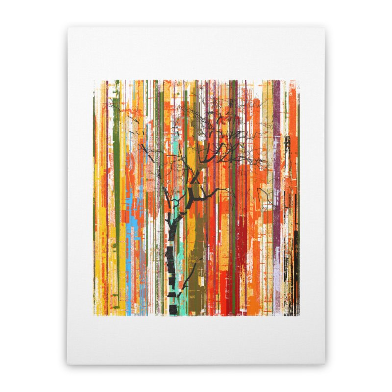 Fusion Autumn (Vertical Version) Home Stretched Canvas by bulo
