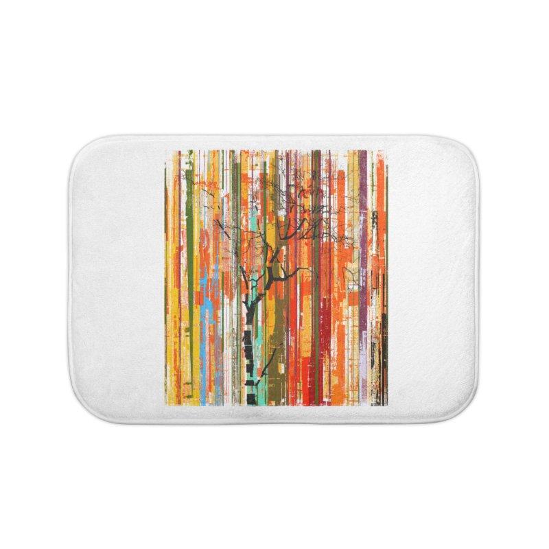 Fusion Autumn (Vertical Version) Home Bath Mat by bulo